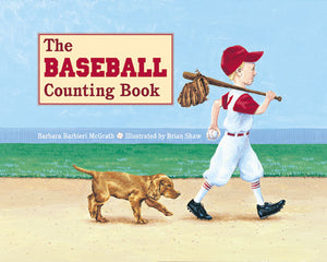 The Baseball Counting Book cover image