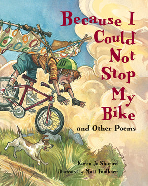Because I Could Not Stop My Bike and other poems book cover