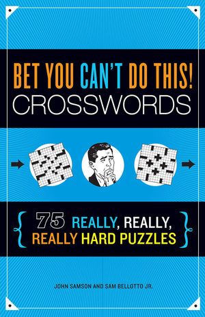Bet You Can't Do This! Crosswords book cover image