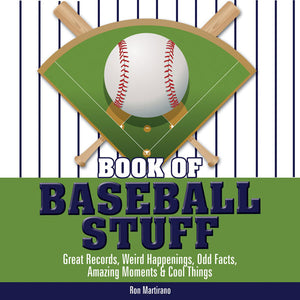 Book of Baseball Stuff book cover image