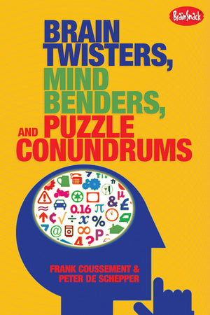 Brain Twisters, Mind Benders, and Puzzle Conundrums book cover image