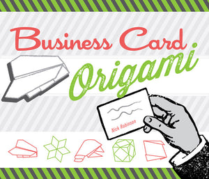 Business Card Origami book cover image