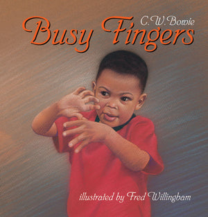 Busy Fingers book cover