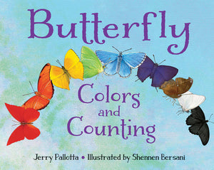 Butterfly Colors and Counting book cover