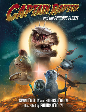 Captain Raptor and the Perilous Planet book cover