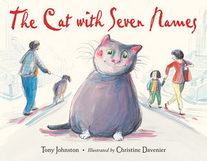 The Cat With Seven Names book cover