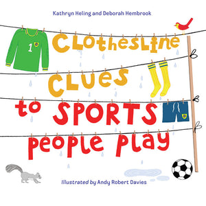 Clothesline Clues to Sports People Play book cover