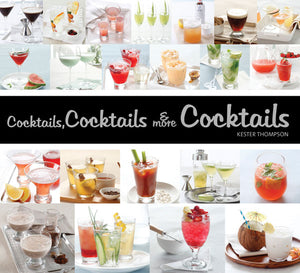 Cocktails, Cocktails & More Cocktails! book cover image