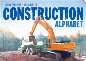 The Construction Alphabet Board Book cover image