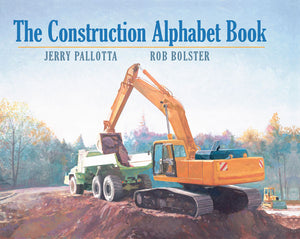 The Construction Alphabet Book cover image