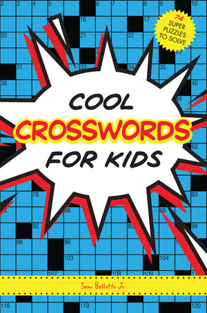 Cool Crosswords for Kids book cover