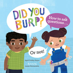 Did You Burp? book cover