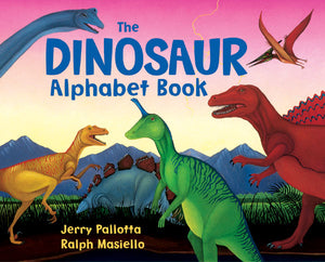 The Dinosaur Alphabet Book cover image