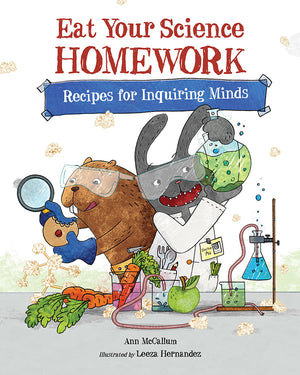 Eat Your Science Homework book cover