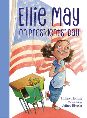 Ellie May on Presidents' Day book cover