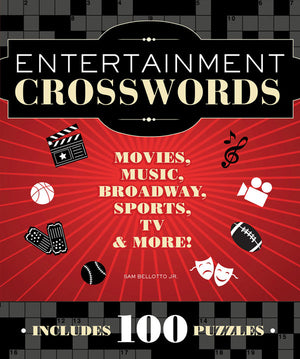 Entertainment Crosswords book cover image