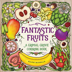 Fantastic Fruits coloring book cover