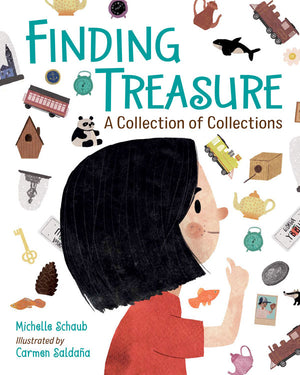 Finding Treasure book cover