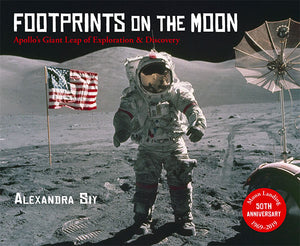 Footprints on the Moon book cover