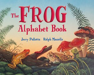 The Frog Alphabet Book cover image