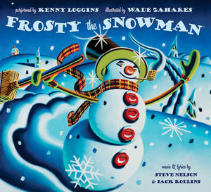 Frosty the Snowman book cover