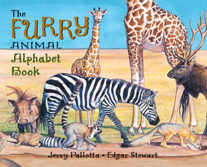 The Furry Animal Alphabet Book cover image