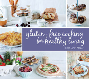Gluten-Free Cooking for Healthy Living book cover image