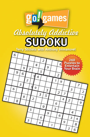 go!games Absolutely Addictive Sudoku book cover image
