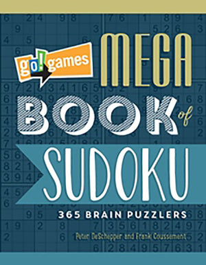 go!games Mega Book of Sudoku book cover image