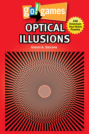 go!games Optical Illusions book cover image