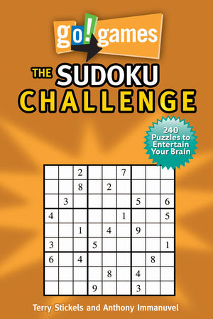 go!games The Sudoku Challenge book cover image