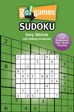 go!games Sudoku book cover image