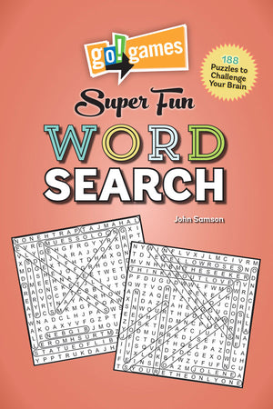 go!games Super Fun Word Search book cover image