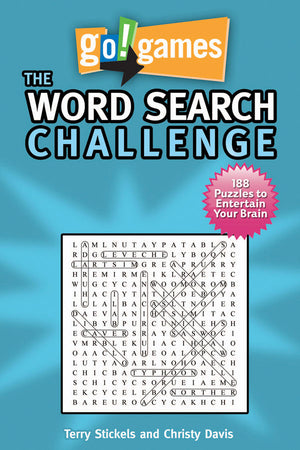 go!games The Word Search Challenge book cover image