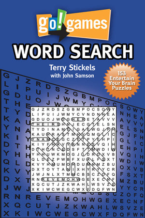 go!games Word Search book cover image