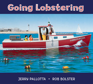 Going Lobstering board book cover
