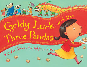 Goldy Luck and the Three Pandas book cover