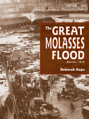The Great Molasses Flood book cover