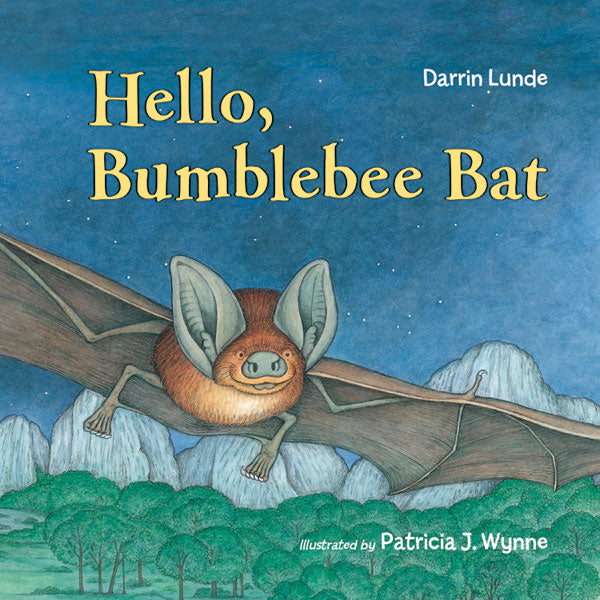 Hello, Bumblebee Bat Board Book
