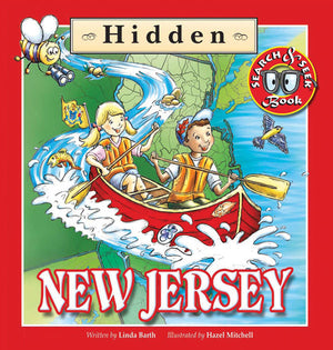 Hidden New Jersey book cover