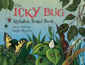 The Icky Bug Alphabet Board Book cover image