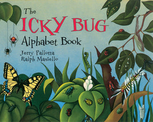 The Icky Bug Alphabet Book cover image