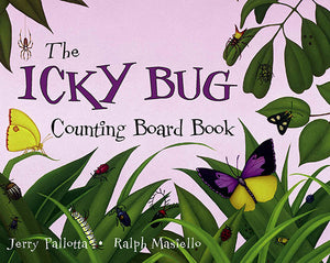 The Icky Bug Counting Board Book cover image