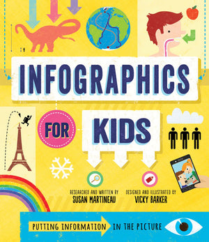 Infographics for Kids book cover
