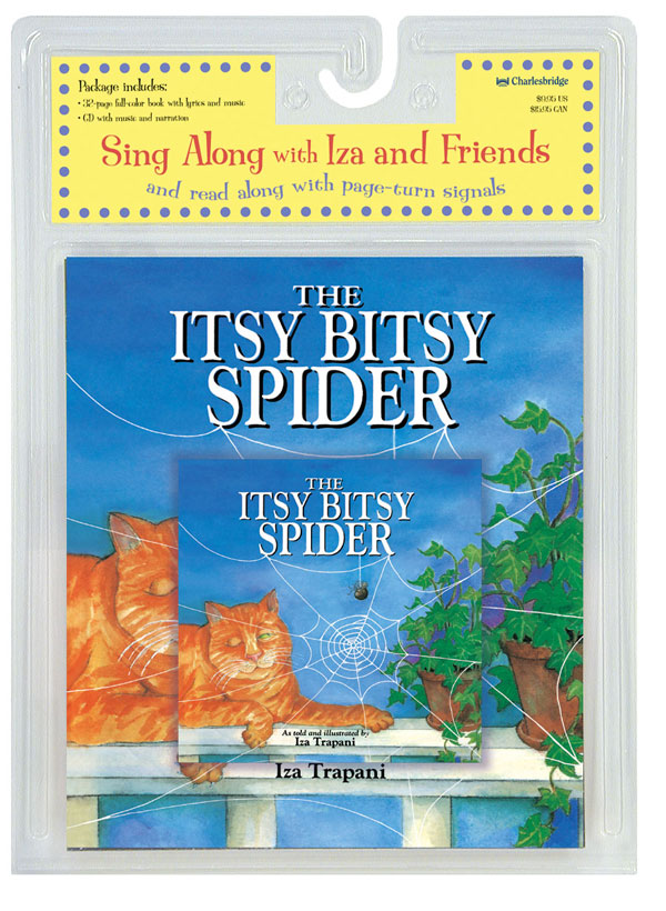 The Itsy Bitsy Spider Paperback/CD Package