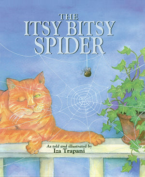 The Itsy Bitsy Spider book cover