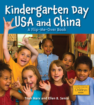 Kindergarten Day USA and China book cover
