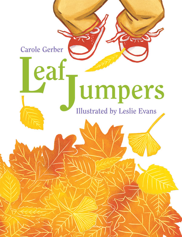 Leaf Jumpers Board Book