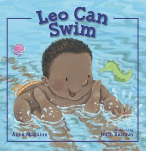 Leo Can Swim book cover
