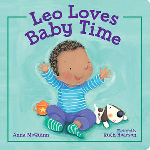 Leo Loves Baby Time book cover